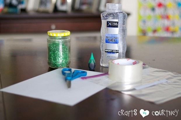 Glitter and Gel Sensory Bag: Getting Started