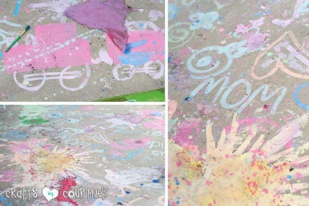 Chalk Paint Craft Fun