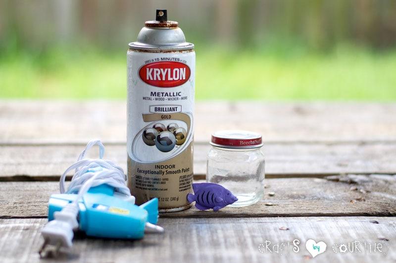 Make Your Own Beach Themed Baby Food Jar Decor