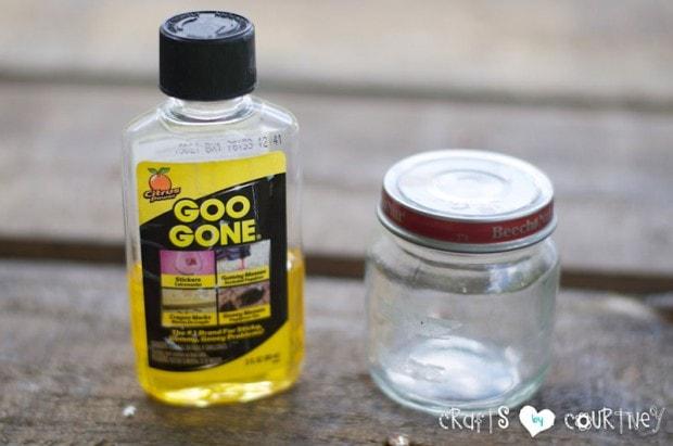 Beach Themed Baby Food Jar Decor: Clean Your Baby Food Jar