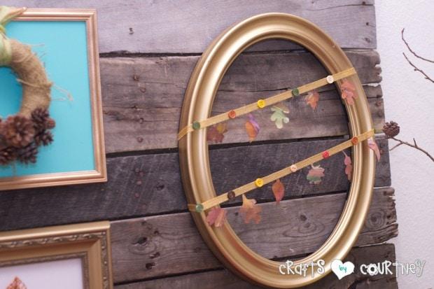 Fall Home Decor Inspiration: Fall Frame Craft