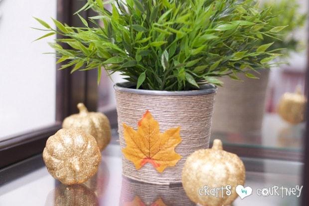 Fall Home Decor Inspiration: Fall Ikea Pot Makeover