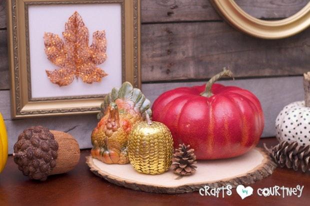 Fall Home Decor Inspiration: Fall Centerpiece