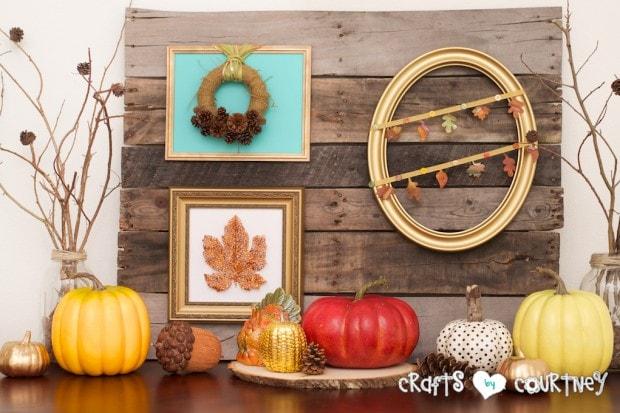 Fall Home Decor Inspiration: Fall Display
