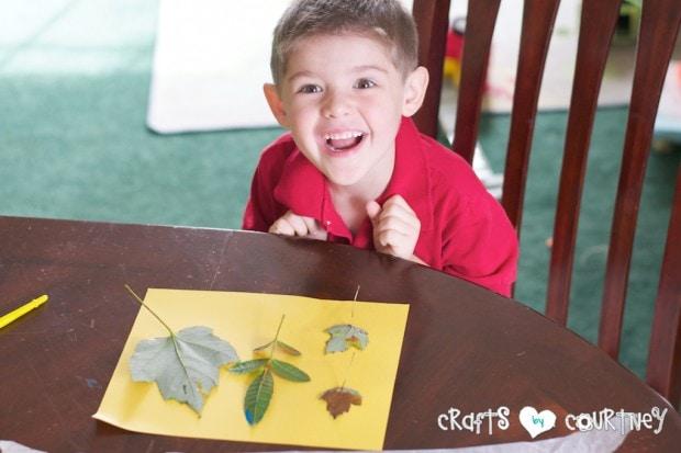 Fun Fall Leaf Stamping Art: Stamp Your Leaf