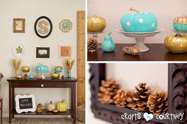 Fall Home Decor Inspiration: Front Enterance