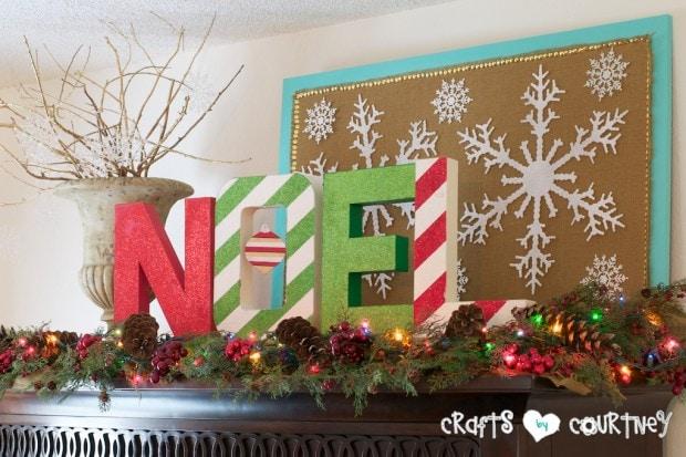 Christmas Home Decor Inspiration: Christmas NOEL