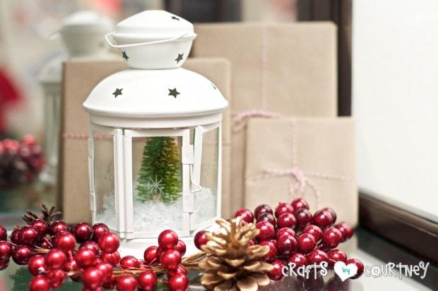 Christmas Home Decor Inspiration: Christmas Ikea Lantern