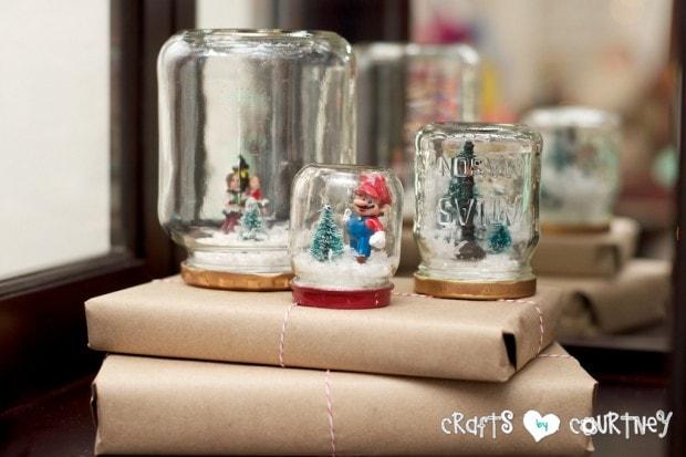 Christmas Home Decor Inspiration: Snowglobe Craft