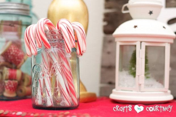 Christmas Home Decor Inspiration: Christmas Mason Jar ideas