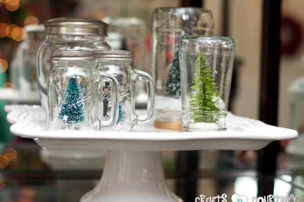Christmas Home Decor Inspiration: Winter Snow globes