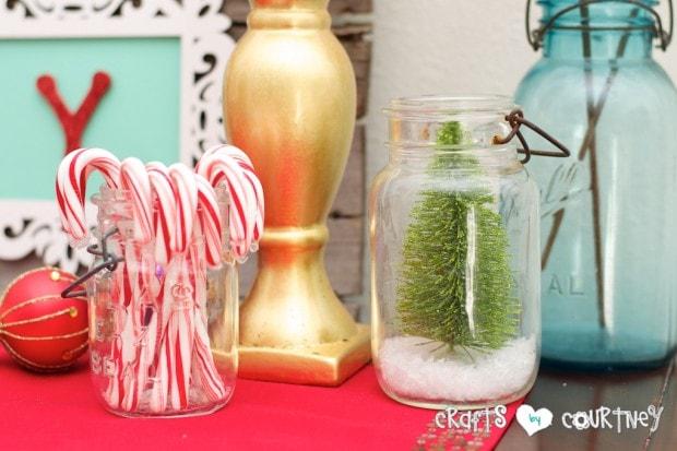 Christmas Home Decor Inspiration: Mason Jars Crafts and ideas