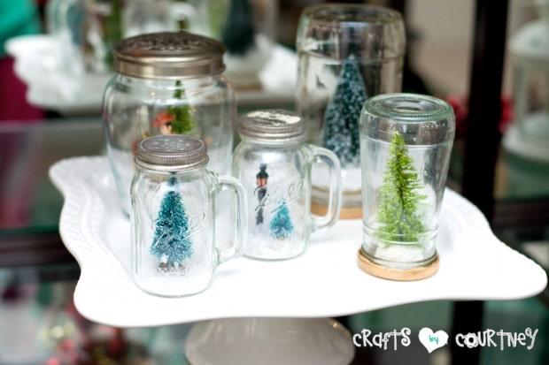 Christmas Home Decor Inspiration: Christmas Crafts - Snow Globes