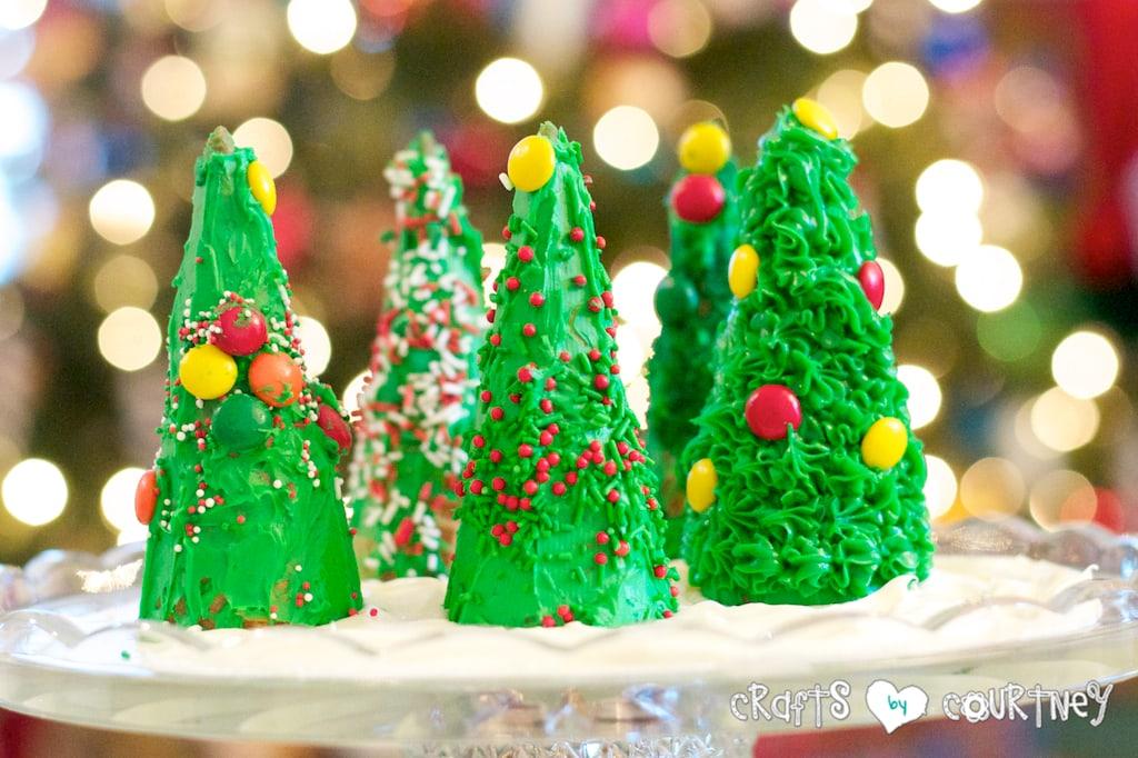Fun To Make Edible Christmas Tree Craft