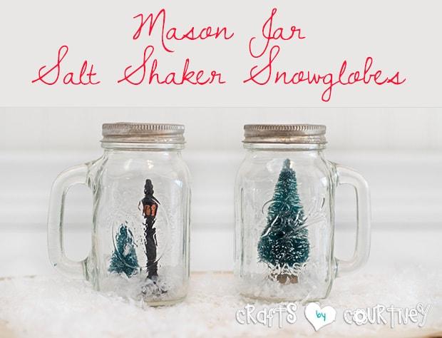 Christmas Salt Shaker Craft