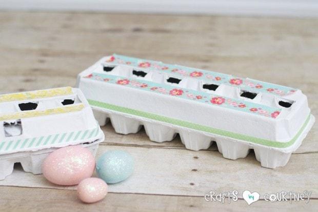 Easy Easter Craft Ideas: DIY Decorative Easter Egg Cartons