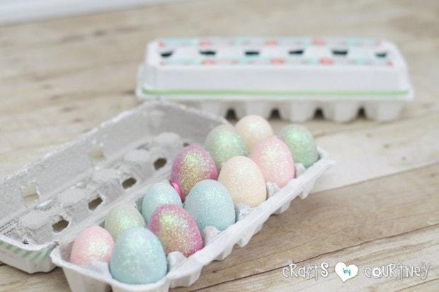 Easter Crafts: DIY Decorative Easter Egg Cartons