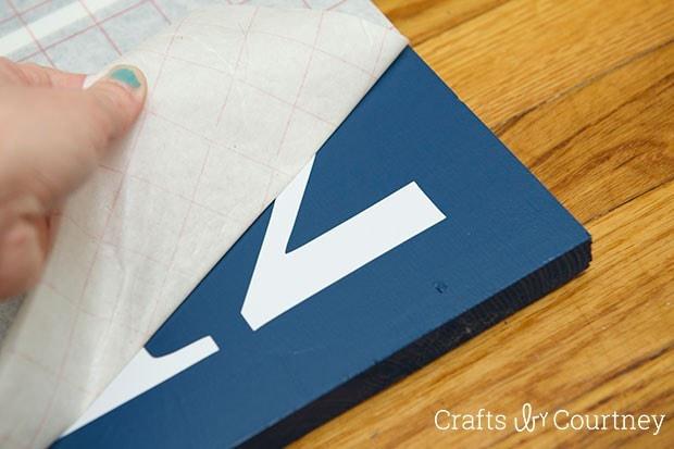 Pottery Barn Knockoff: DIY Giant Flash Card Art