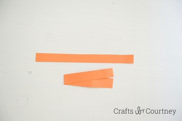 TMNT toilet paper roll finger puppet step 1
