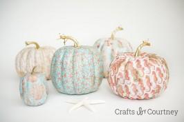 Mod Podge Mod Podge Fall Coastal Theme Pumpkins Craft Coastal Theme Pumpkins