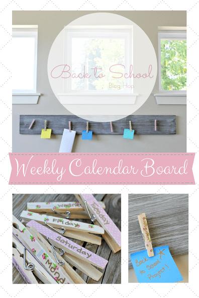 diy-weekly-calendar-board-crafts-wall-decor-woodworking-projects
