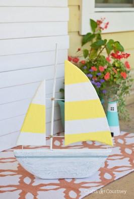 DIY Foam Sailboat Craft