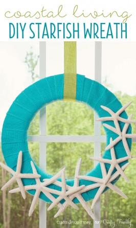 Beach Craft - Coastal Living Inspired DIY Wreath