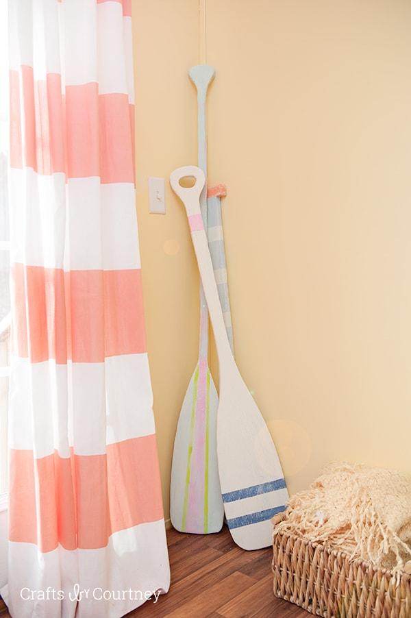 Diy foam oar craft for Polystyrene sheets for crafts