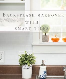 Backsplash Makeover with Smart Tiles