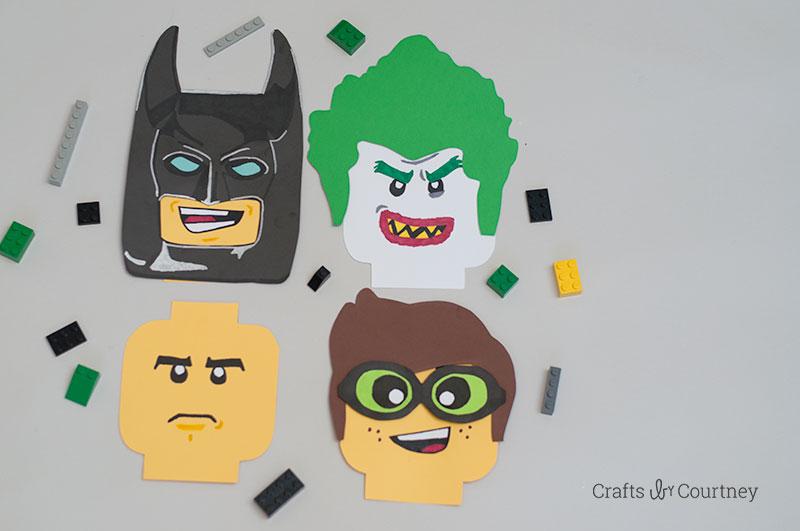 Lego Craft - The LEGO Batman Movie inspired crafts