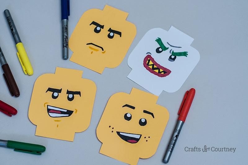 Super Fun Lego Craft - The LEGO Batman Movie
