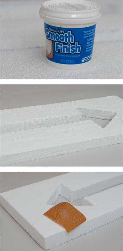 DIY Arrow Decor – Two Ways - Step 3