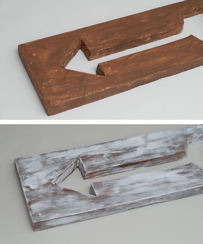 DIY Arrow Decor – Two Ways - Step 4