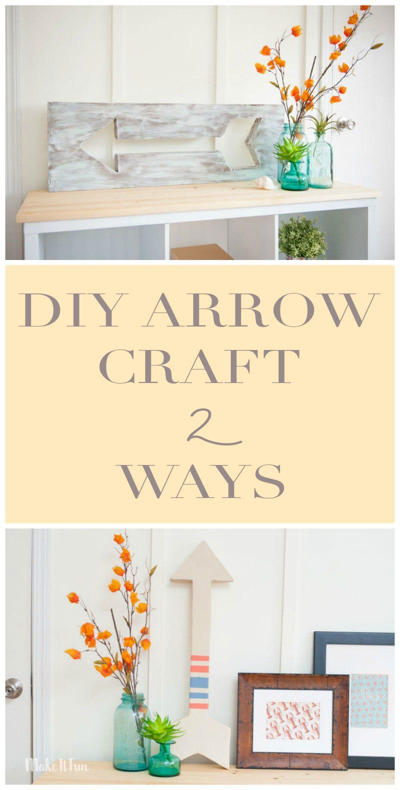 DIY Arrow Decor for any style!