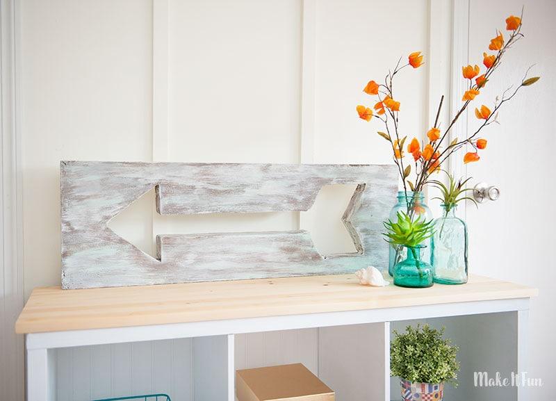 DIY Arrow Decor – Two Ways from a foam sheet!