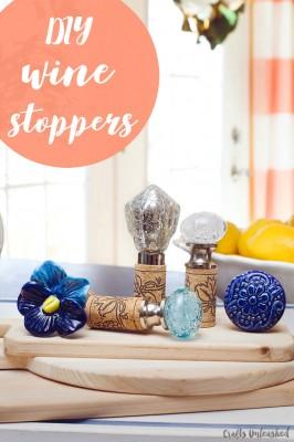 Create Simple DIY Wine Stopper