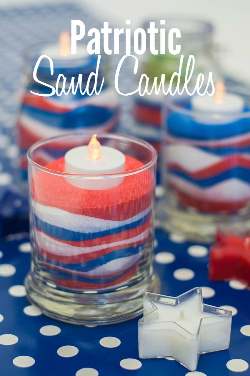 Diy patriotic candles for Diy candle crafts