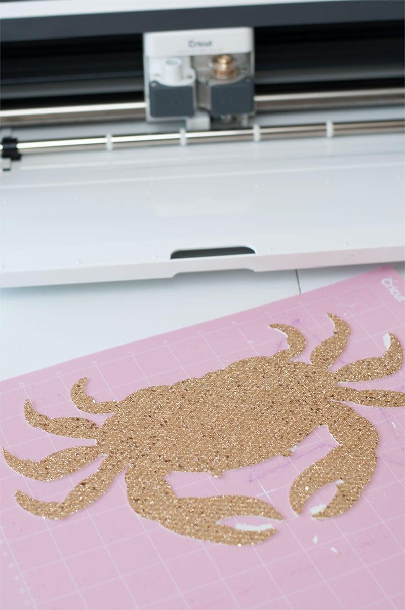 Coastal DIY Pillow for Christmas with Cricut Maker