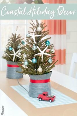 COASTAL CHRISTMAS TREE DECOR