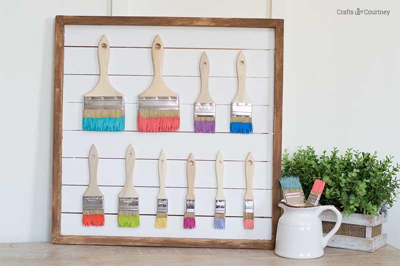 Create a simple Craft Room Wall Art