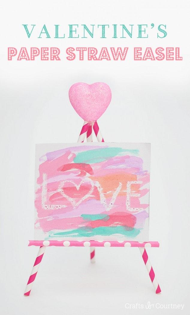 Create an Easy Valentine Kids Craft