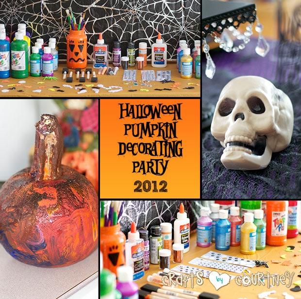 Halloween Pumpkin Decorating Party – 2012