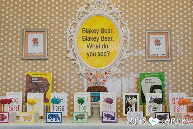 Brown Bear Birthday Party: