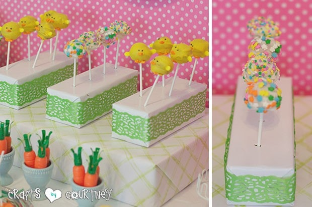 Easter Party: Display Table: Cake Pops