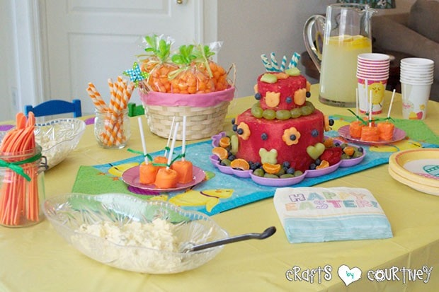 Easter Party: Sweet Treats Table