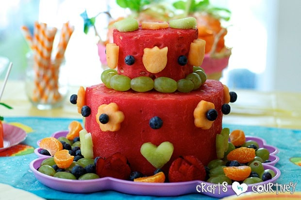 Easter Party: Sweet Treats Table: Fruit Cake