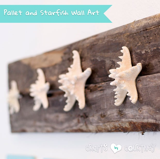 Build a Beachy Pallet and Starfish Wall Craft