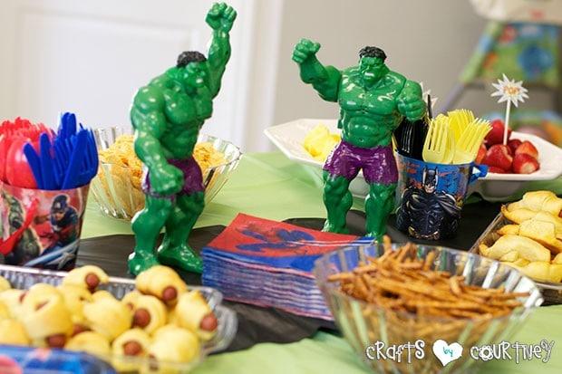 Superhero Birthday Party: Fueling Station