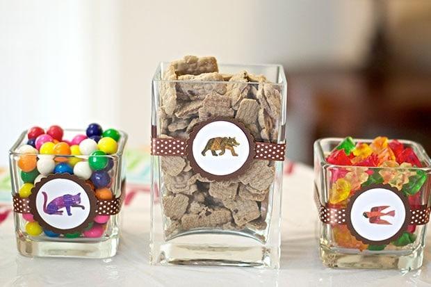 Brown Bear Birthday Party: Brown Bear Treats