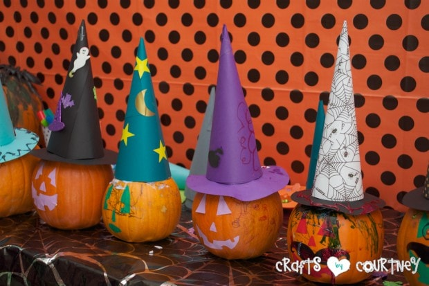 Witches and Wizards Halloween Pumpkin Decorating Party: The Witch and Wizard Pumpkins